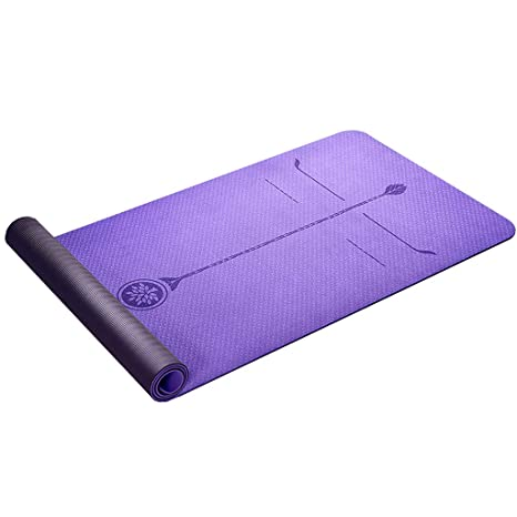 DLJFU - Esterilla De Yoga Espesar Estera de Yoga - Hogar ...