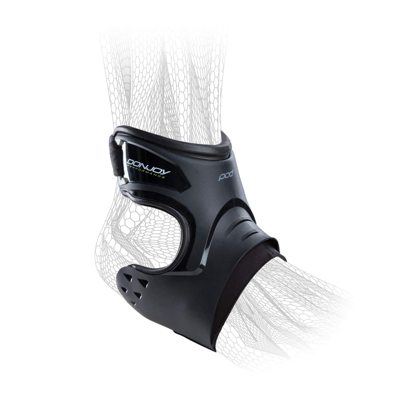 DonJoy Performance POD Ankle Brace Pair - Right and Left - Black - Small - Value Bundle by DonJoy Performance (Image #2)