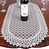 YASHSEX Dresser Scarf European Gray Table Runner 35 by 16 Inch