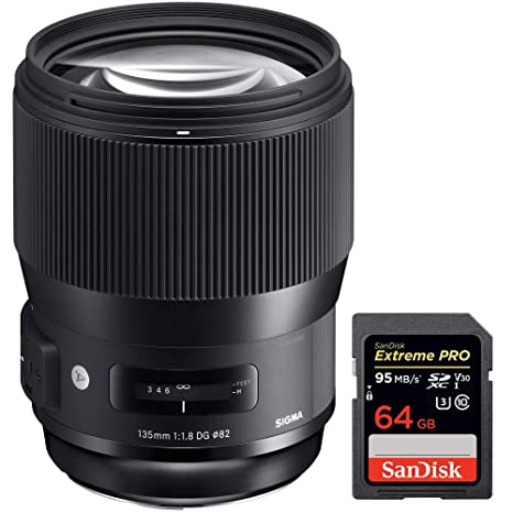 Amazon.com: Sigma 5.315 in F1.8 DG HSM Art - Lente telephoto ...