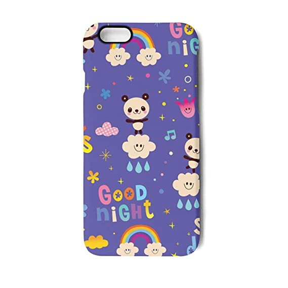 rainbow good night sweet dreams phone case for iphone 8 plus iphone 7 plus tpu