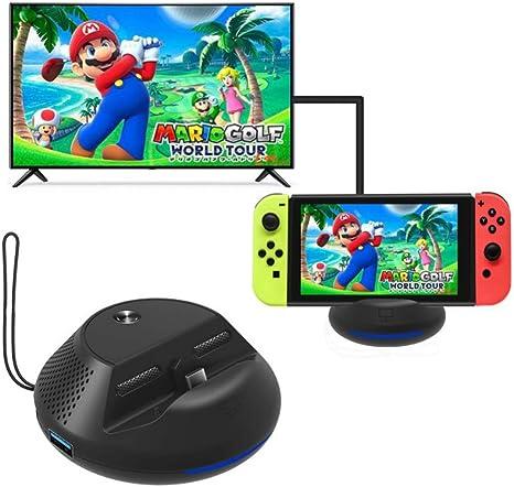 Ohhome Convertidor de TV portátil Muelle de carga para Nintendo ...