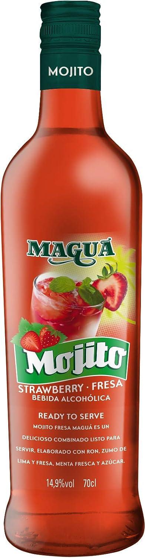 Maguá Mojito fresa - 6 botellas x 700 ml - Total: 4200 ml ...