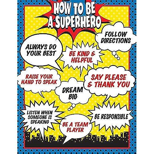 Marvel Classroom Decor : Superhero classroom decor amazon