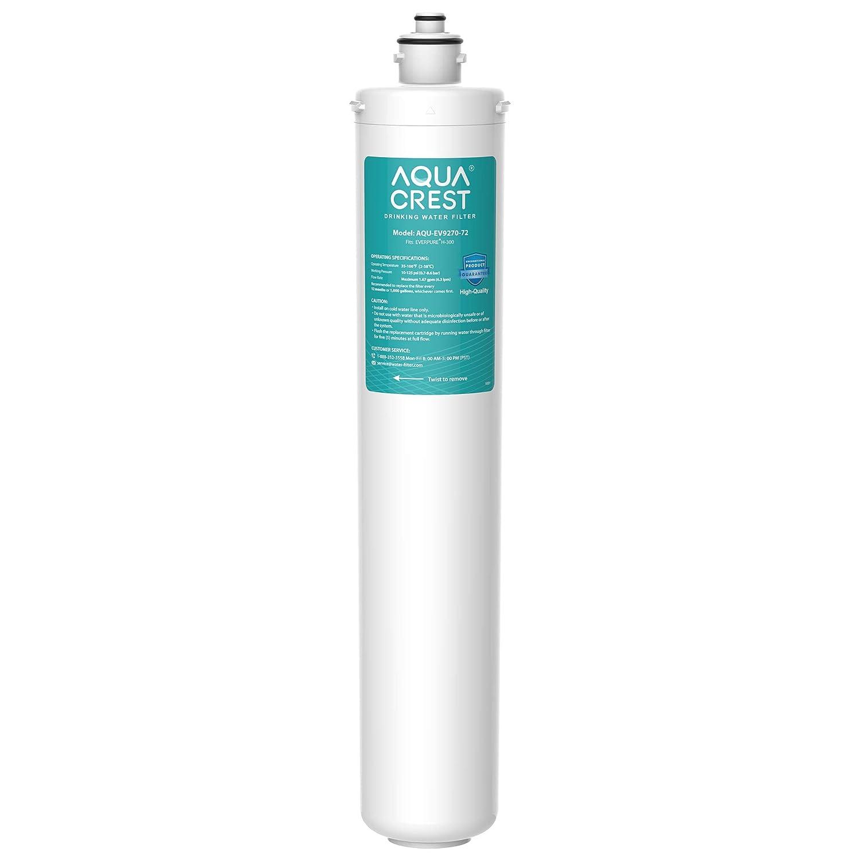AQUA CREST EV9270-72 Under Sink Water Filter, Replacement Cartridge for Everpure H-300, H-300-NXT, 7CB5, EV9270-71, EV9270-72, EV9618-11, EV9855-50, EV9273-70