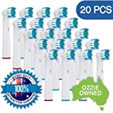 20x NeliCo Toothbrush Heads Compatible with Oral-B Electric Toothbrush – Precision Clean – Rotating Brush Head for Superior Clean