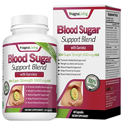 Mulberry Natural (Blood Sugar Support Supplement With White Mulberry and Garcinia Cambogia For Weight Loss - 1600 mg - A Potent Natural Fat Burner Appetite Suppressant and Energy Booster - 60 Veggie Pills)