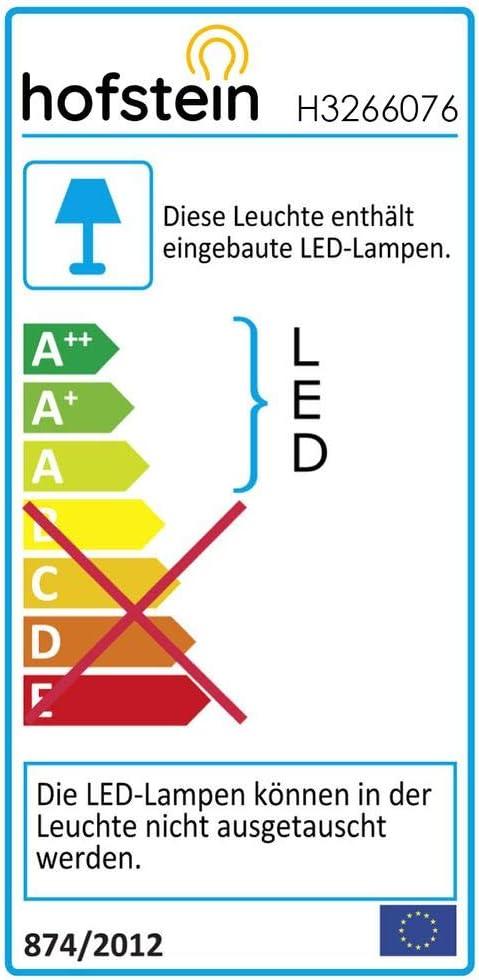 LED Deckenleuchte Fasola 1200 Lumen Leuchte mit Sternenhimmeloptik /über Lichtschalter in 3 Stufen dimmbar IP44 18 Watt 3000 Kelvin runde Deckenlampe mit Glitzer-Effekt aus Metall in Nickel-matt