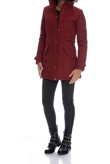 f594b0c094 Penn-Rich Woolrich WYCPS0523-F-PENN-PARKA Jacket Women: Amazon.co.uk ...