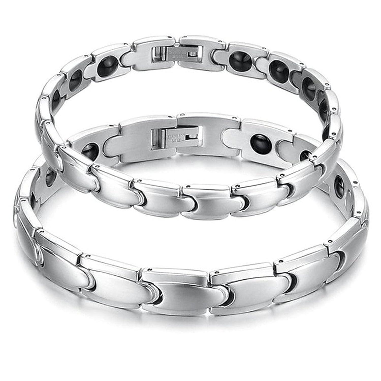 Feraco Titanium Magnetic Therapy Bracelet Image 1