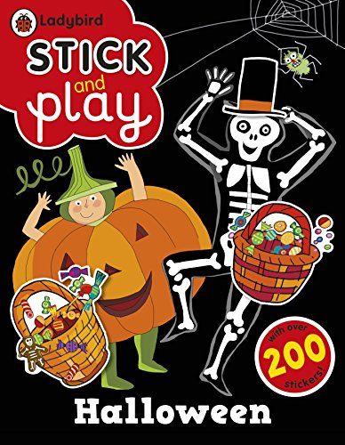 Ladybird Stick and Play Halloween Sticker Book -