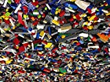 Bulk Legos Best Deals - 500 Random Lego Pieces Washed Sanitized and Sorted from big lots