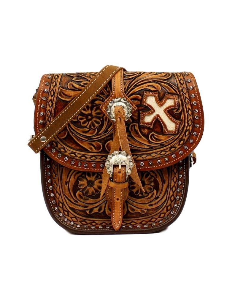 Blazin Roxx Women's Cora Saddle Bag Brown One Size