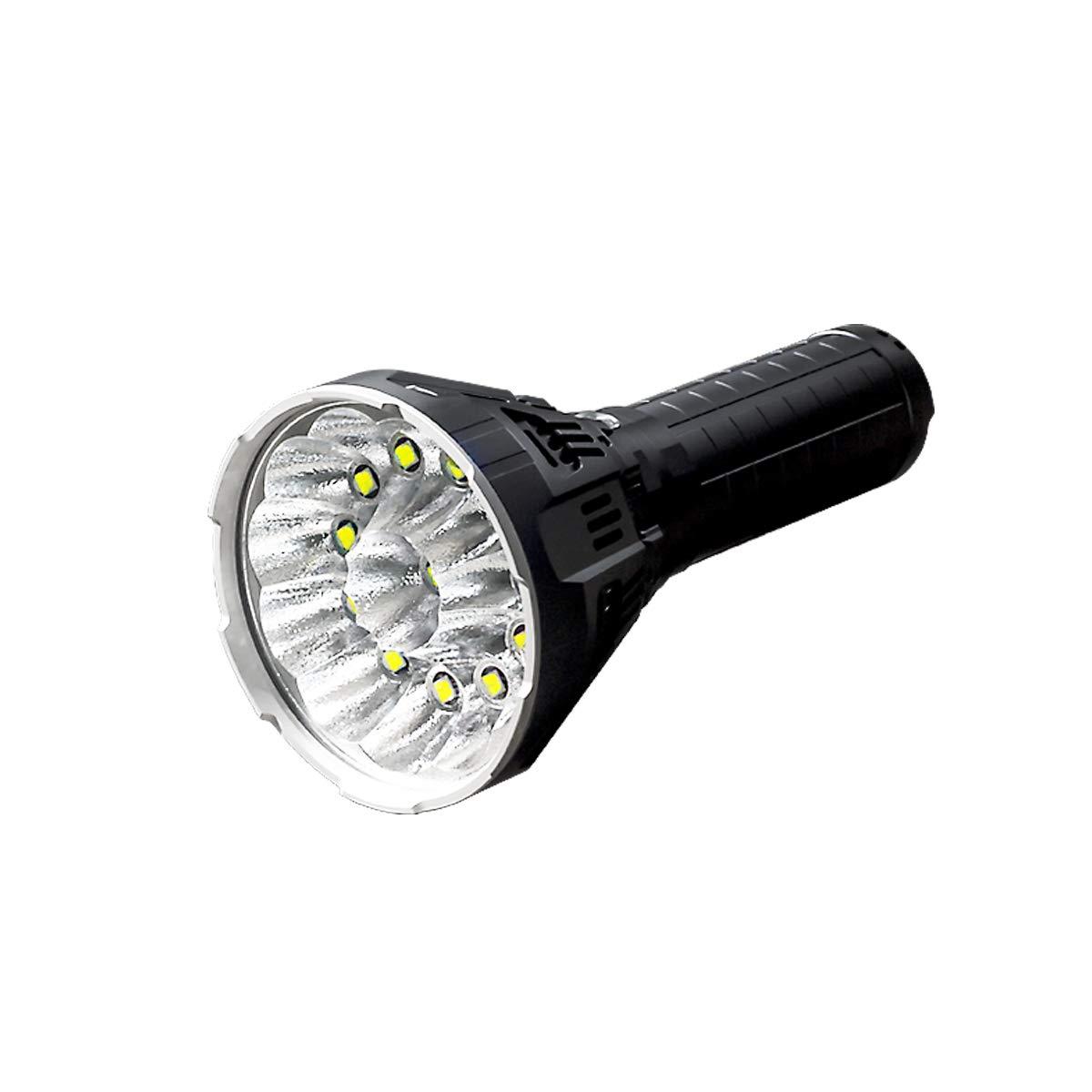 IMALENT Flashlight CREE XHP70 LED mit einer maximalen Leistung von bis zu 53000LM und einer Reichweite von bis zu 913 Metern für Camping, Wandern und Reiten