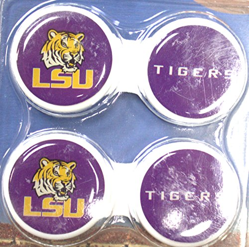 - LSU Tigers Contact Lens Case 2 Pack