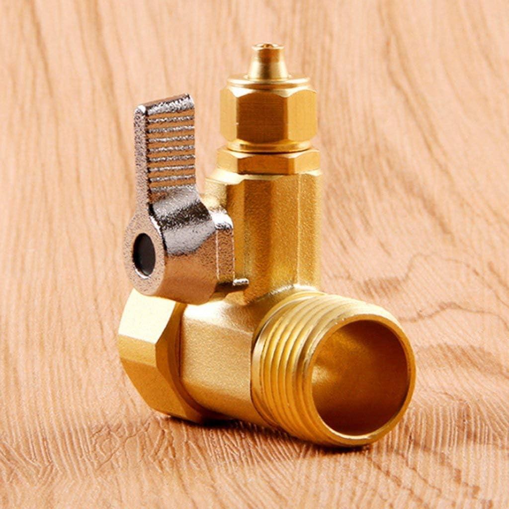 KEKEYANG Connector Valve 1//2  1//4  Pipe Male Female Compact Utensils Plumbing Tools Valve
