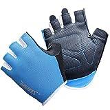 Men's and Women's Thin Breathable Non-slip Fitness Gloves Outdoor Sports Gloves Fitness Short Finger Gloves Half Finger Gloves