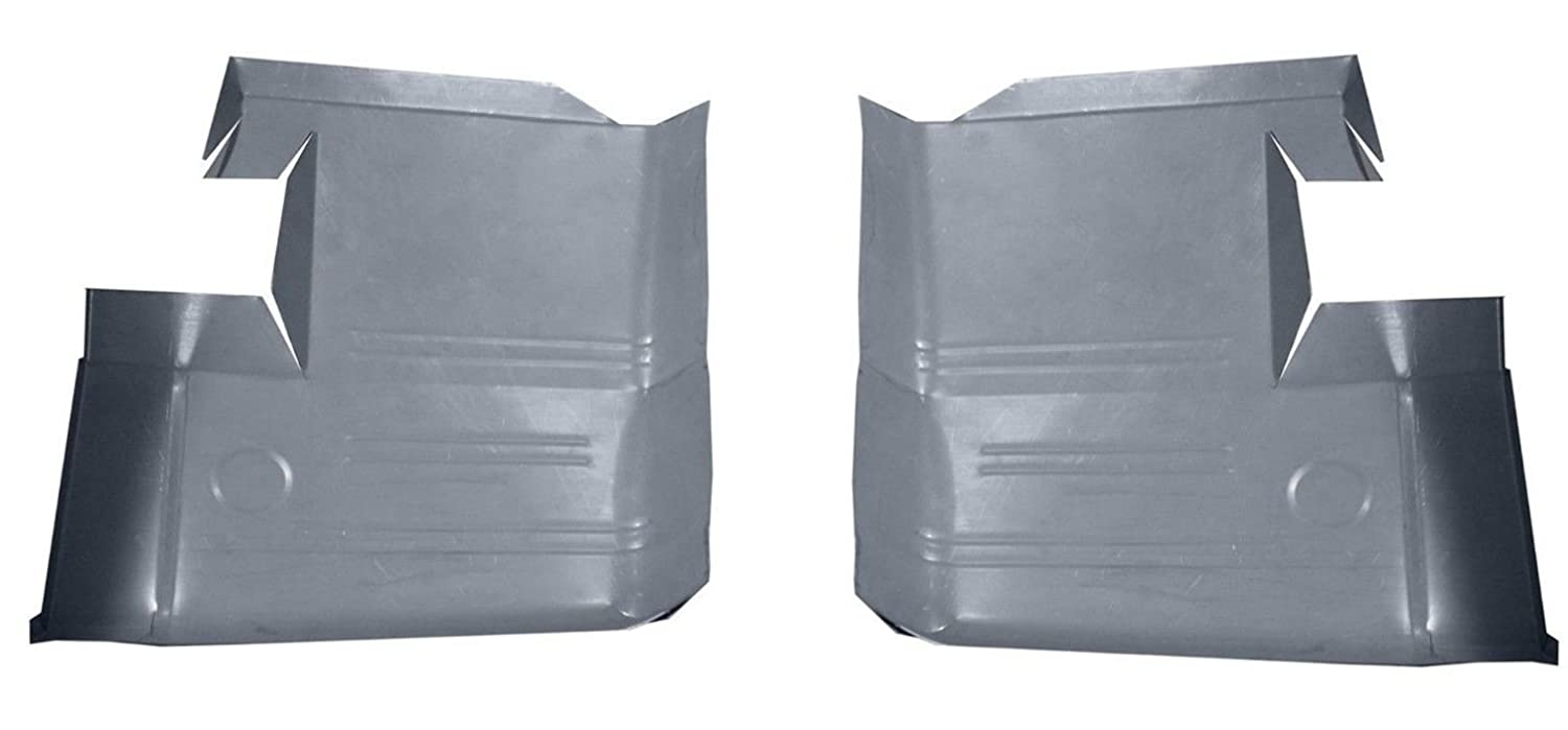 Motor City Sheet Metal Works With 1962 1963 1964 1965 FORD FAIRLANE FRONT FLOOR PANS NEW PAIR!!