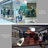 Motion Sensor Alarm, 120 dB 5 Door Alarm Modes 4