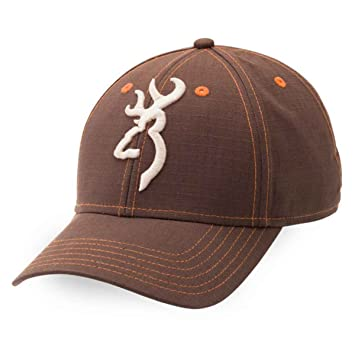 24e25391792 Amazon.com   Browning Logan Buckmark Brown Orange Hat Cap   Sports ...