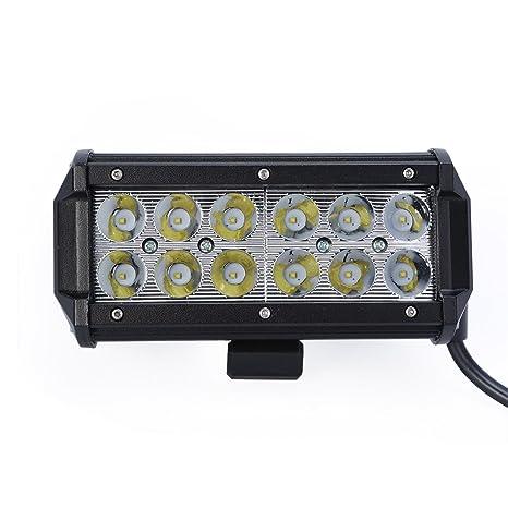 36W Faro de Trabajo LED Cree Trabajo Faro de Coche Luces LED Foco Reflector Bombillas Led