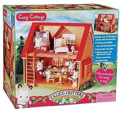 amazon com calico critters cozy cottage starter set toys games rh amazon com