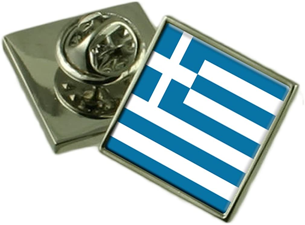 Select Gifts Griechenland Flagge Anstecknadel Abzeichen 18mm W/ählen Sie Geschenk Tasche