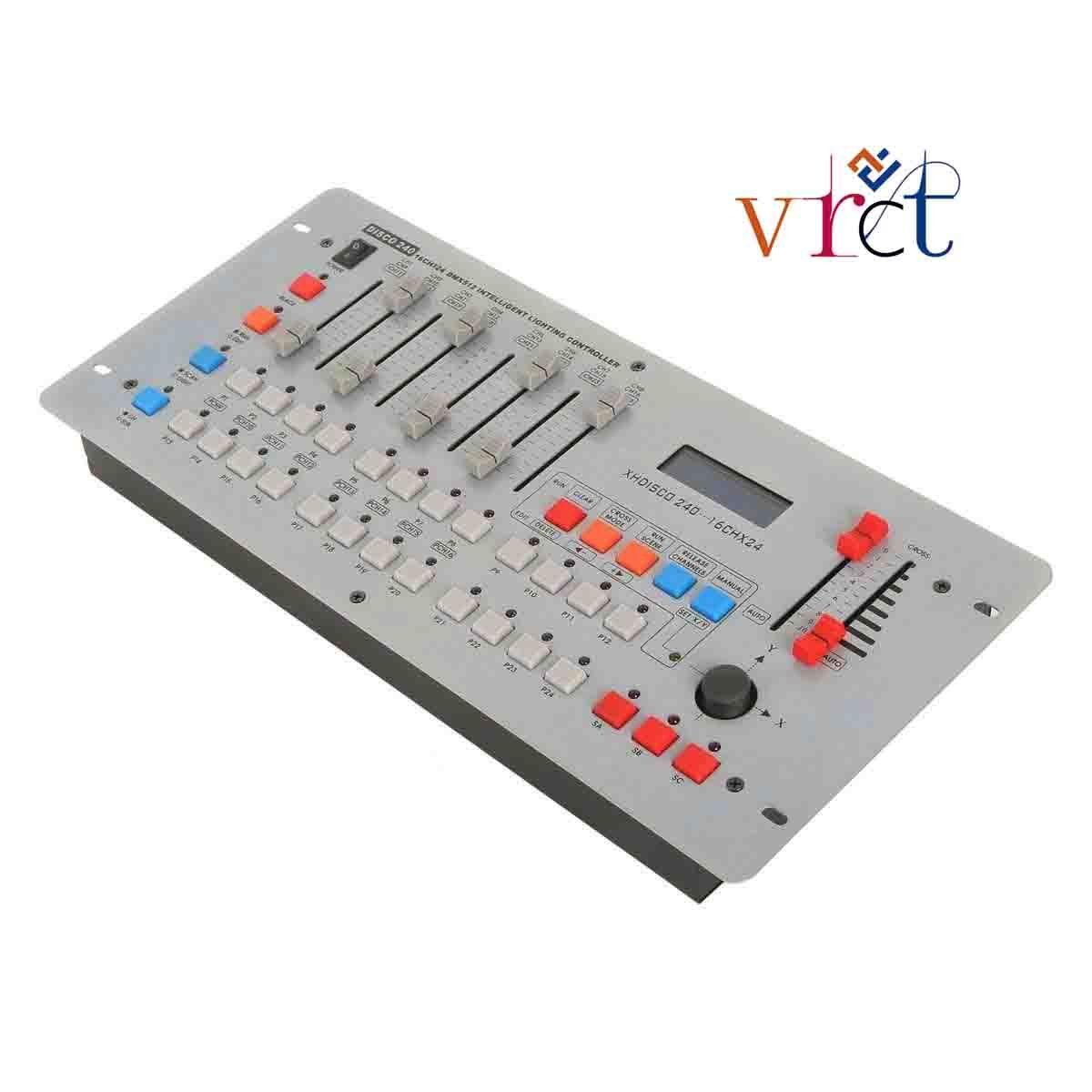 VRCT DMX 512 DJ Lighting Disco 240 CH Controller Console for Stage ...