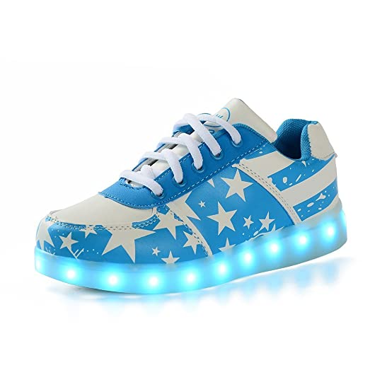 LED Light Shoes Spring And Autumn Men CasualFor Adults unisex USB Charging Luminous Shoes For Lovers