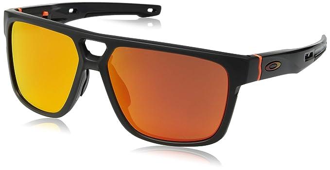 Oakley CROSSRANGE Patch Gafas de sol, Mtt CRBN w/PRIZM Ruby, 31 ...