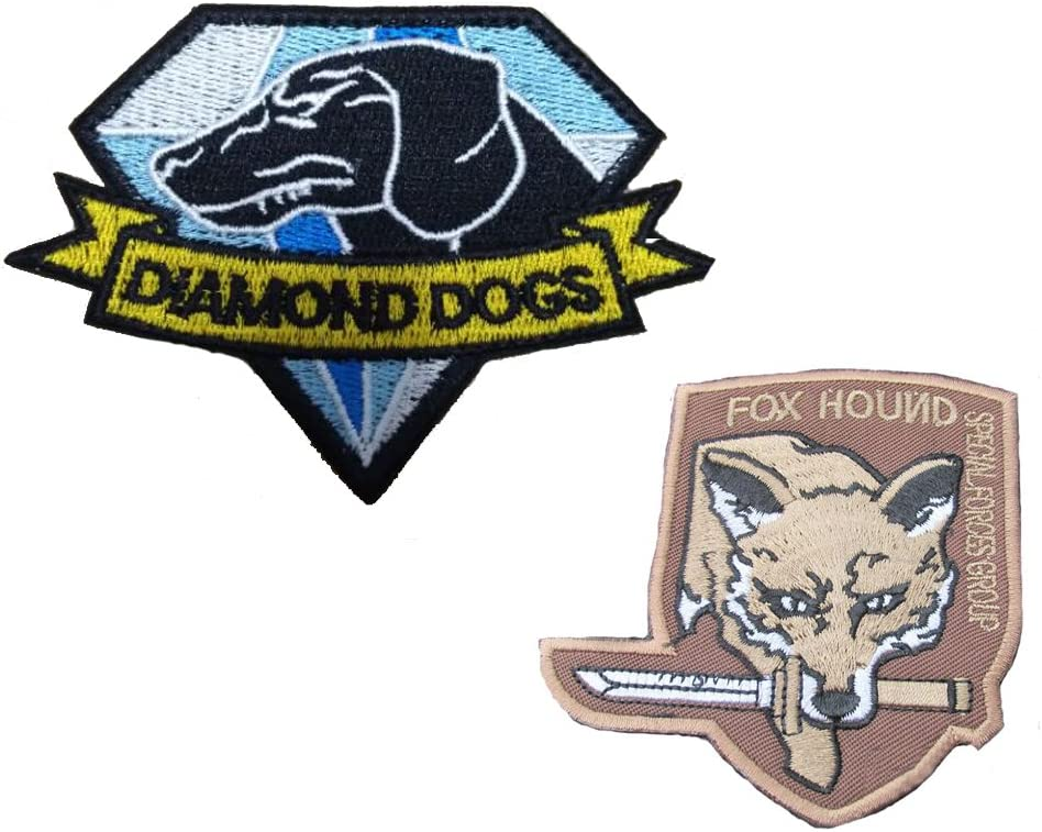 A GrayCell Military Morale Diamond Dogs and Metal Gear Solid Fox Patch