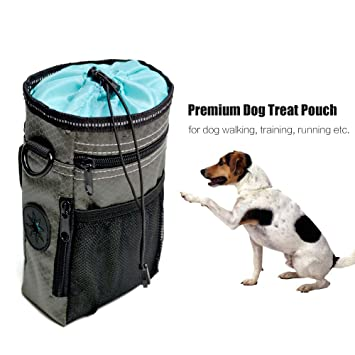 Hangang - Bolsa de entrenamiento para perros – Dispensador de bolsas integrado, perfecto para transportar