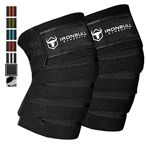 Bodybuilding Knee Wraps - Knee Wraps (1 Pair) - 80
