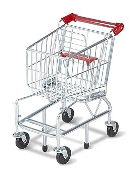 Melissa & Doug – 4071 Metal carrito de la compra para niños, edad 3 +
