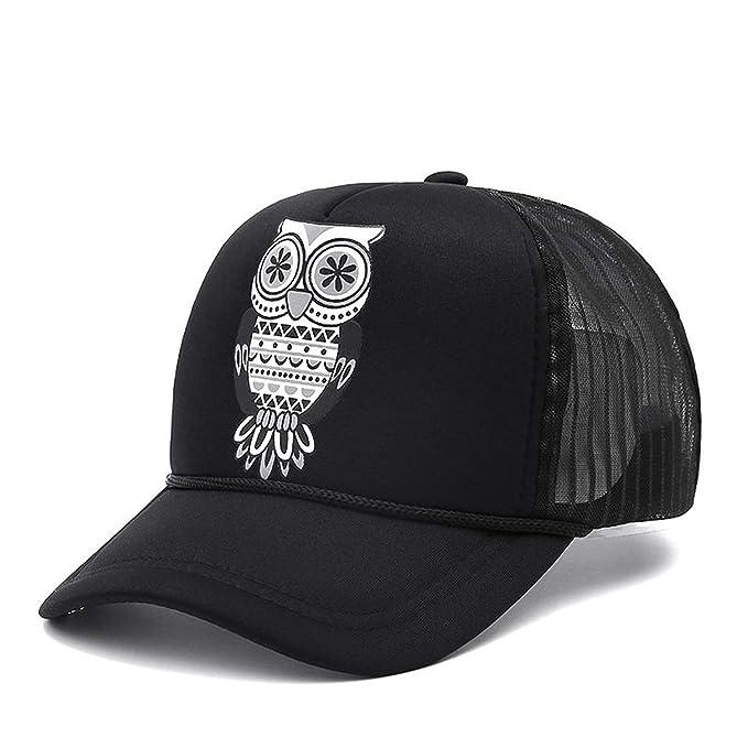 Unisex Trucker Baseball Cap Mesh Cap Snapback Hat Vintage Women Men Gorras Hip Hop Hat Black