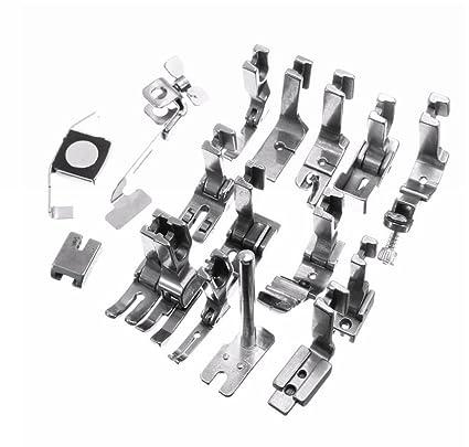 Lote 15 prensatelas maquina industrial