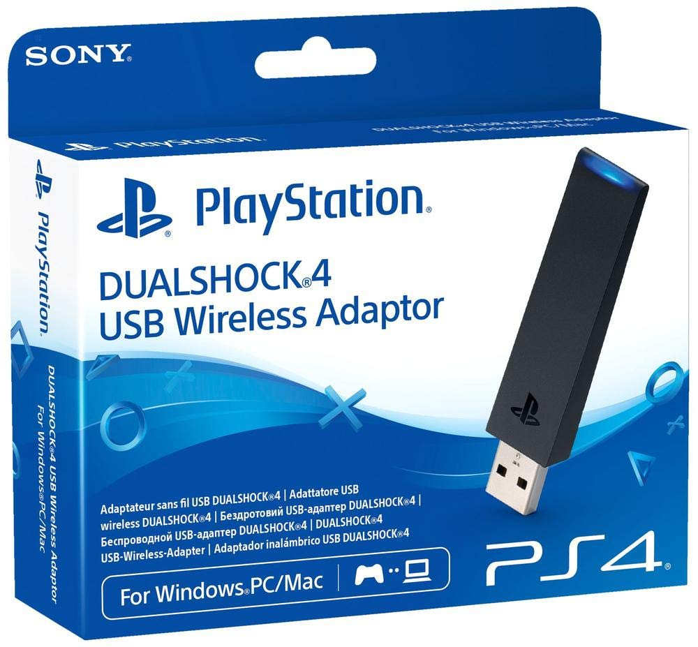 Amazon Com Sony Dualshock 4 Usb Wireless Adapter Playstation 4 Video Games