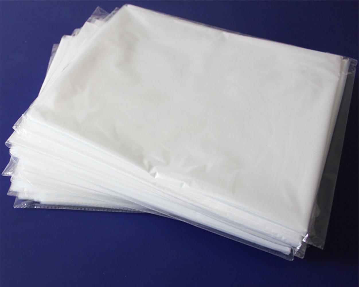 40pcs Dust Cover Garment Storage Organizer Bag Wardrobe Hanging Clothes (40pcs) by Risesun (Image #6)