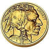$50 1oz Gold American Buffalo (Random Date) BU - a patriotic spirit, rare coin for collectors