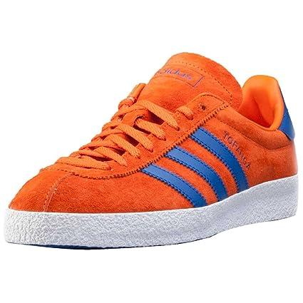 100% authentic 95f43 135b1 adidas Topanga Trainers Orange 5 Child UK