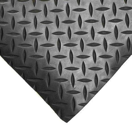 1 Bar Diamant Caoutchouc Garage Soling Tapising 3mm épais Sol