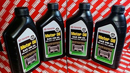 toyota 0w20 oil - 3