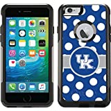 Kentucky - Polka Dots design on Black OtterBox Commuter Series Case for iPhone 6 Plus and iPhone 6s Plus