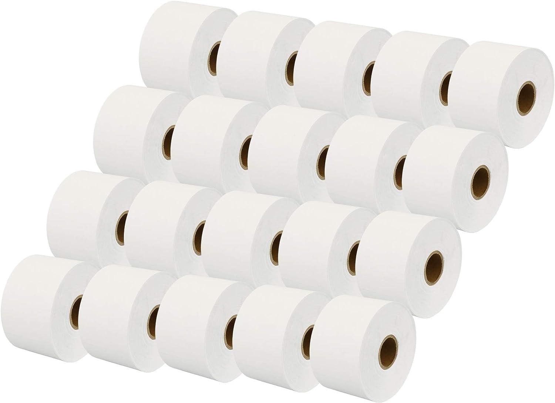 Etichetta per rotolo: 300 per Dymo LabelWriter 4XL Stampante per Etichette Printing Pleasure 20x Compatibile Rotolo Dymo S0929100 51mm x 89mm Etichette non adesive