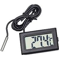 BESPORTBLE Termómetro Digital Lcd Temperatura de La Pecera