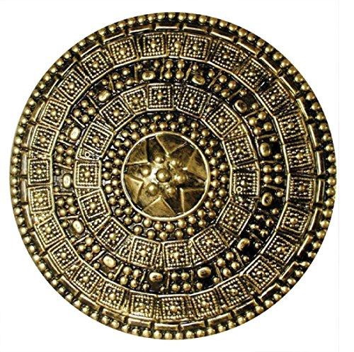 Roman Shield Gold (Armor Footwear)