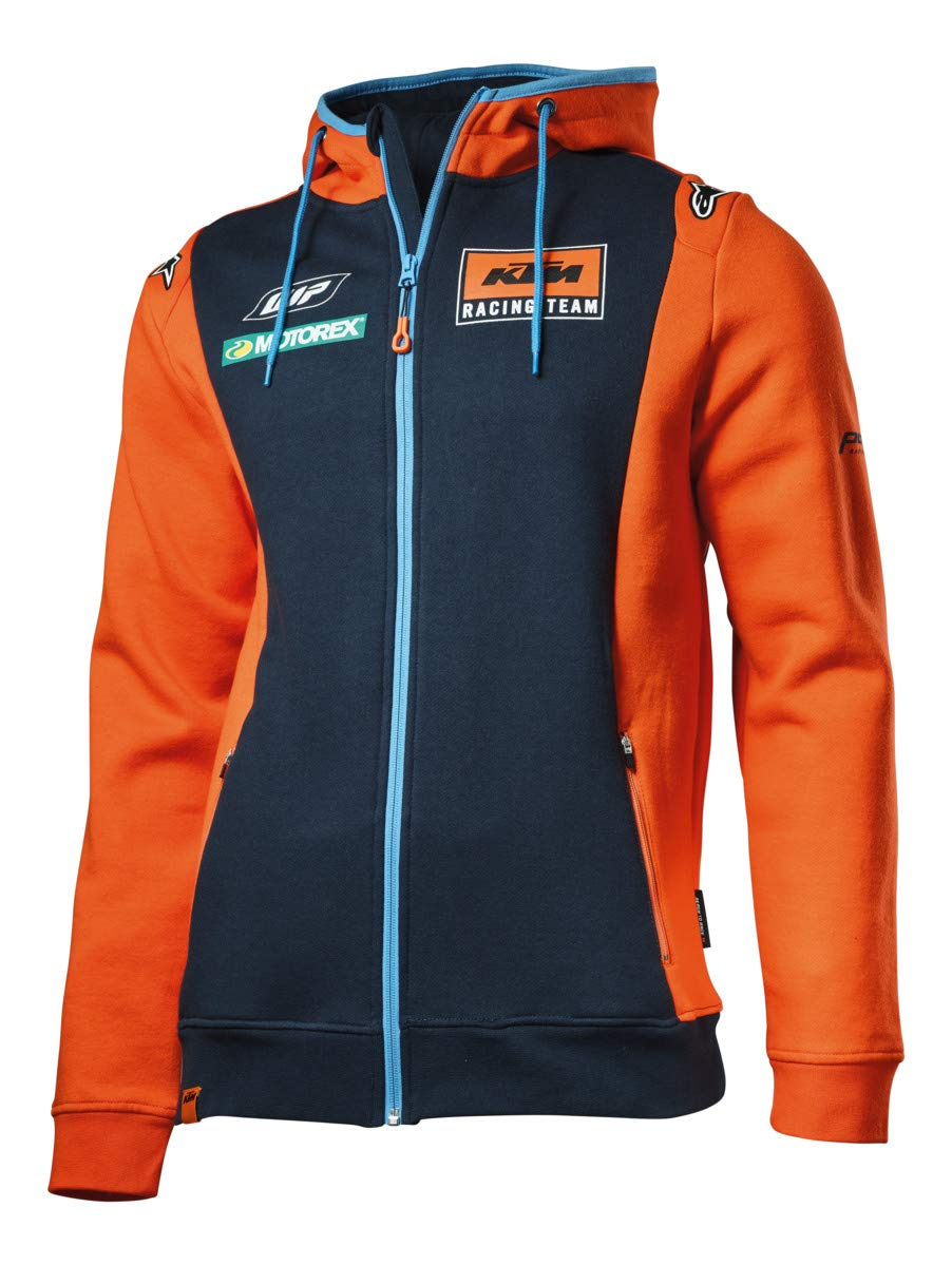 KTM Replica Team Zip Hoodie Large 3PW1854004
