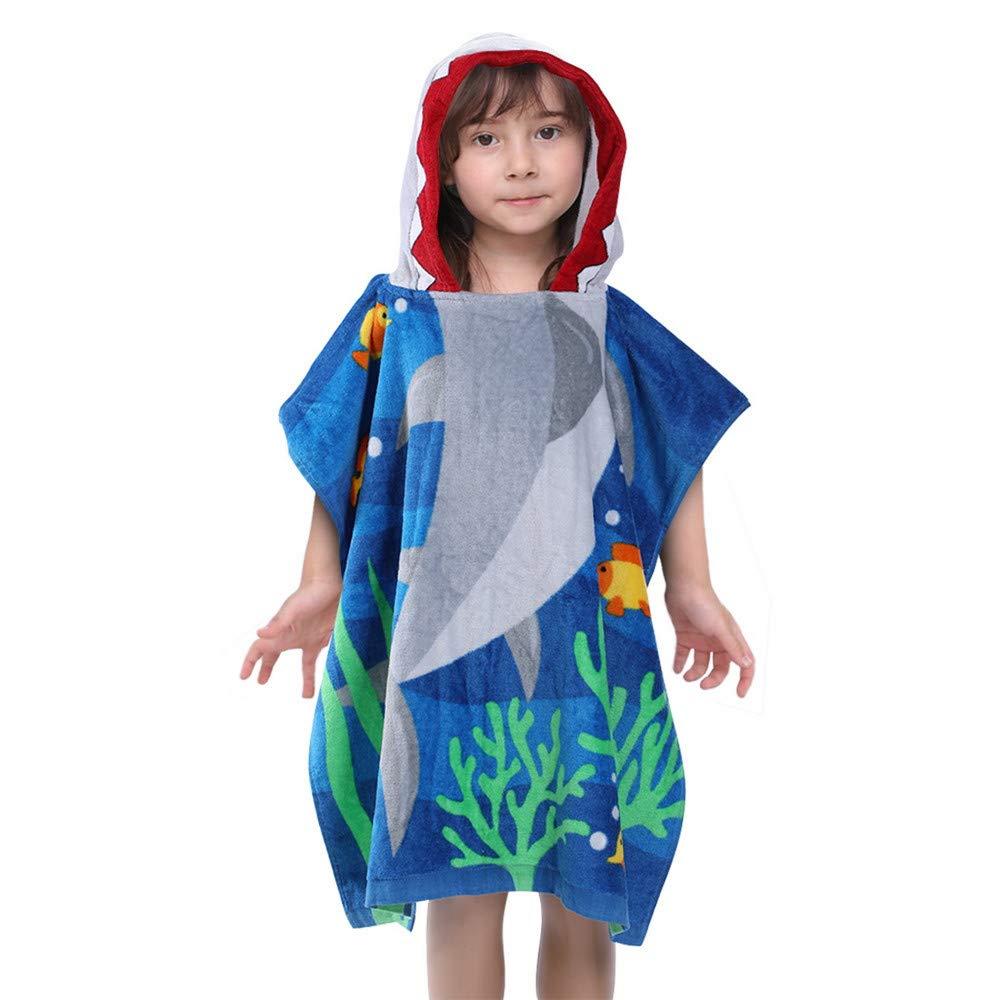 Penguin Girls /& Boys 100/% Cotton Bath Towelling Poncho Age 7-11