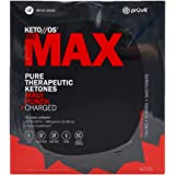KETO//OS MAX Maui Punch CHARGED, Provides Sharp Energy Boost, Promotes Weight Loss and Burn Fats through Ketosis, 20 Sachets