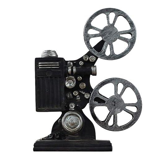 Awakingdemi Retro Vintage Movie Proyector Modelo Miniatura Adorno ...